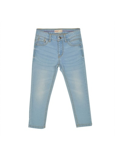Silversun Kids Erkek Çocuk Açık Denim Cepli Kot Pantolon- Pc 215438 Mavi